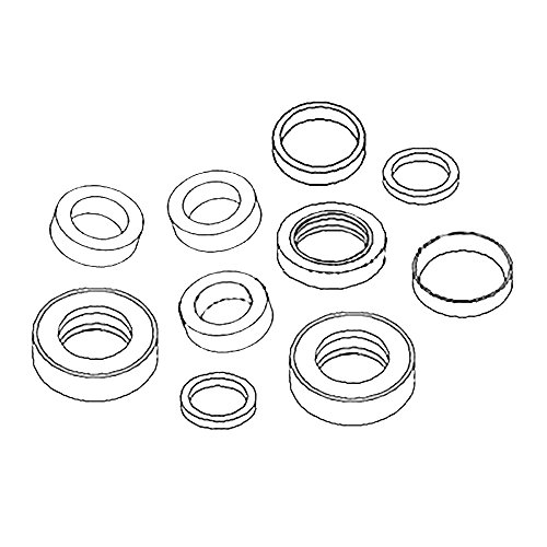 RE33803 New Seal Kit 50mm Bore For John Deere Backhoe Loader 310C 410C 510C 610C