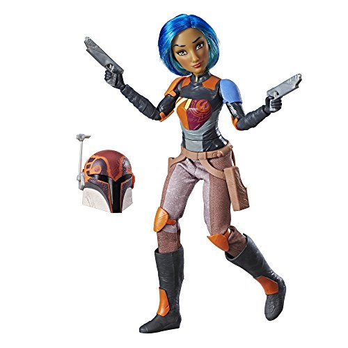 Star Wars Doll (Star Wars Forces of Destiny Sabine Wren Adventure Figure)