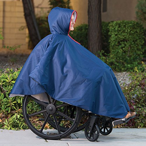Wheelchair Poncho-Unisex-Adult by MaxiAids
