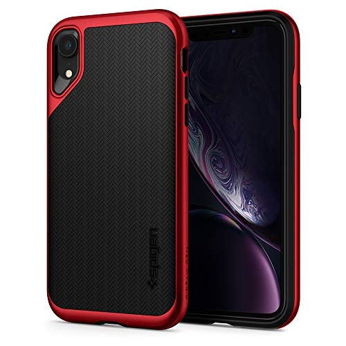 Spigen Back Cover Case for Apple iPhone XR  Polycarbonate, TPU Red
