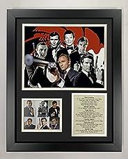 Legends Never Die James Bond Framed Photo Collage, 11 x 14&