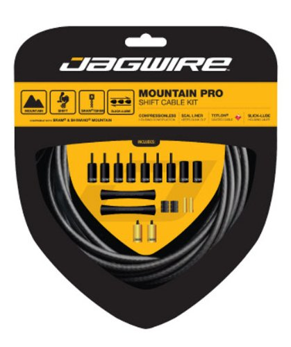 Jagwire End Cap Hop-Up Kit 4.5mm Shift and 5mm Brake Blue