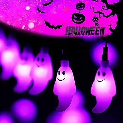 Vmanoo Halloween String Lights 19.7ft 30 LED Fairy String Lights