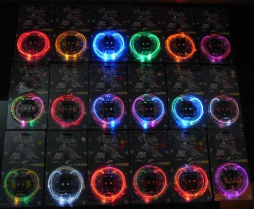 注目浴びる「LEDで光る靴ひも」選べるカラバリ 16色 点灯は 3パターン 夜間のウォーキング、犬の散歩、クラブやフェスに (ホワイト&ピンク)