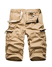 J-Sun-7 Men's Basic Casual Sport Shorts