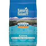 Natural Balance Kitten Formula Dry Cat Food, Original Ultra Whole Body Health Chicken, Duck Meal & Salmon Meal, 6-Pound Review