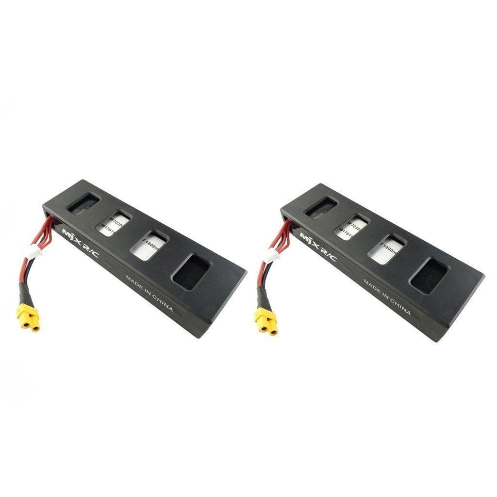 2 Baterias para MJX B3 Bugs 3 B3H Bugs 3H F17 F100 Brushless