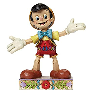 Jim Shore for Enesco Disney Traditions Pinocchio Figurine, 4