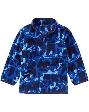 Baby Boy Blue Camo Pullover