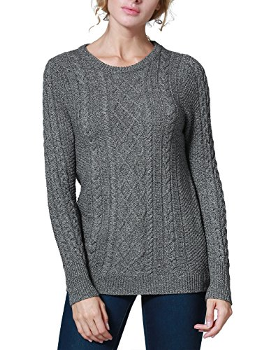 Acrylic Crewneck Sweater - 9