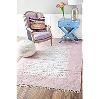 Sammie Trellis Outdoor Lavender Area Rug