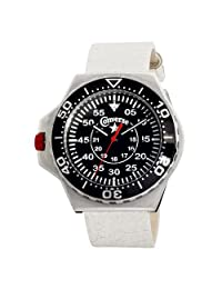 Converse Men's VR008150 Foxtrot Culture Distressed White Strap Watch