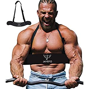 Jayefo Sport Arm Blaster for Arm Biceps & Triceps {Dumbbells & Barbells Support}{Bicep Isolator}{Barbell Curls Support}{Strength & Muscle Gains}{Easy Body Building & Weightlifting}