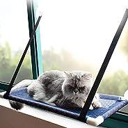 Blusea Gato Janela Perch Rede de Malha Respirável Refrescante Janela Ventosas Assento de Verão Rede para Gatos