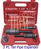 3PC Tail Pipe Expander 1-1/8″ to 3-1/2″, Outdoor Stuffs