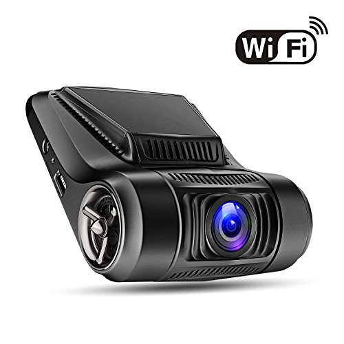 "G12 Car Dash Cam with WiFi 1080P 2.4"" LCD with G-Sensor, 170 Degree, Night Vision, Loop Recording, Parking Monitor, WDR,Motion Detection"