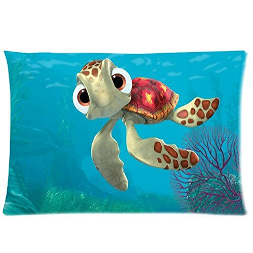 Mark Fashion New 2014 Free Shipping High Quality Decorative Pillow Case Finding Nemo Anime Pillow Case Kids Pillow Case 20X30(Two ()