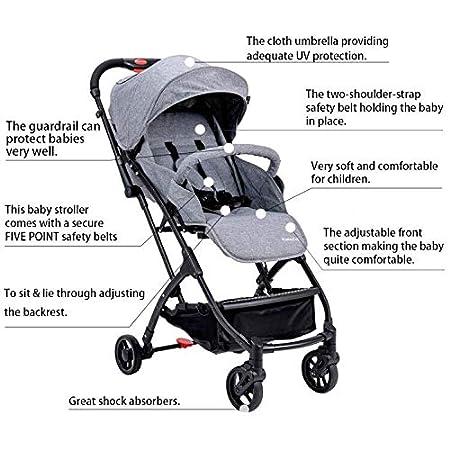 Infant Baby Folding Stroller Pram Carrying Strap Adjustable Safety Security Belt