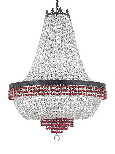 French Empire Crystal Chandelier Chandeliers Lighting Trimmed with ...