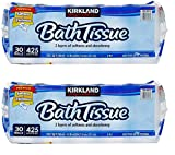 Kirkland Signature Bath Tissue, 2-Ply, 425, 2