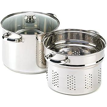 Amazon Com Verdugo Gift Stainless Pasta Cooker Stock Pot