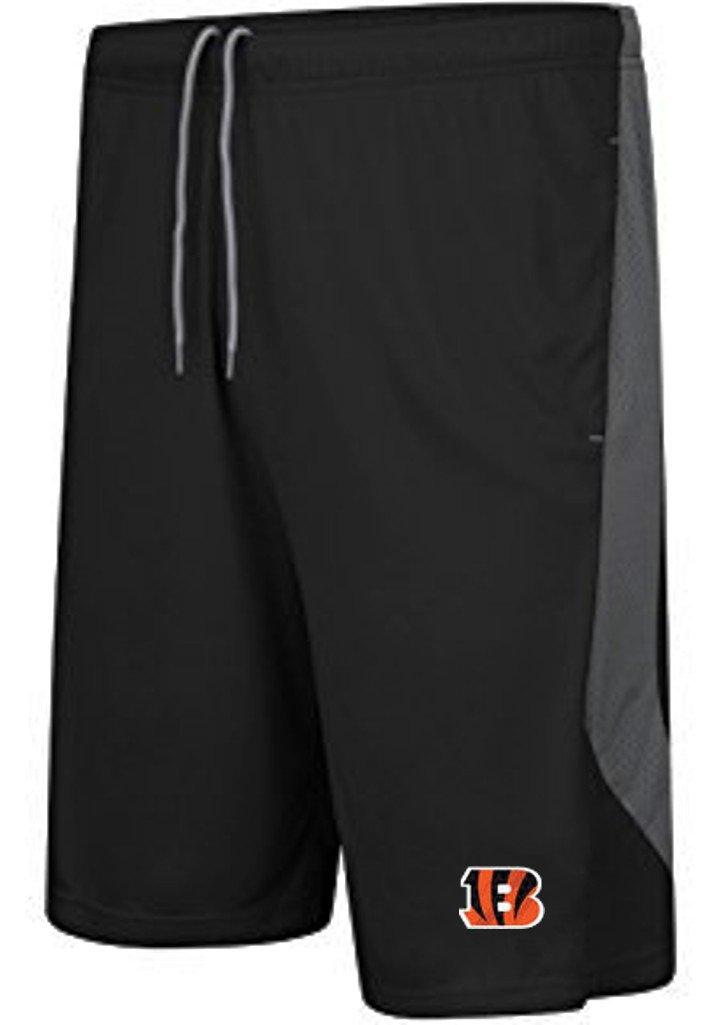 Amazon.com   Cincinnati Bengals NFL Majestic Mens Last Rally Shorts Black  Big   Tall Sizes   Sports   Outdoors 1e438e7af