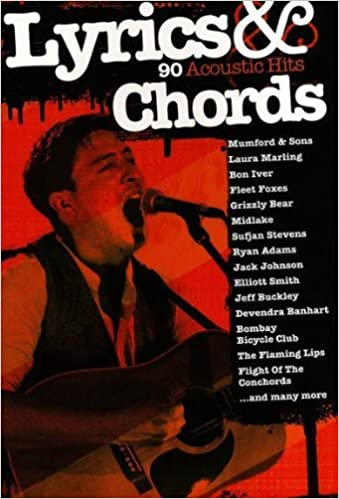 Amazon Lyrics And Chords 91 Acoustic Hits Collectif Livres