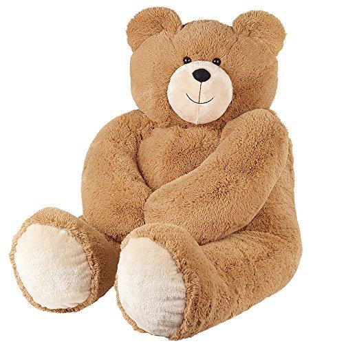 51Rfd7PEh7L - Vermont Teddy Bear - Huge Love Bear, 6 Feet Tall, Brown