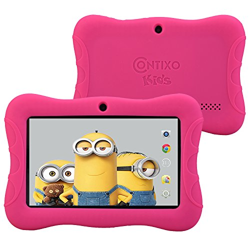 Contixo 7″ HD Display Kids Tablet – Pink