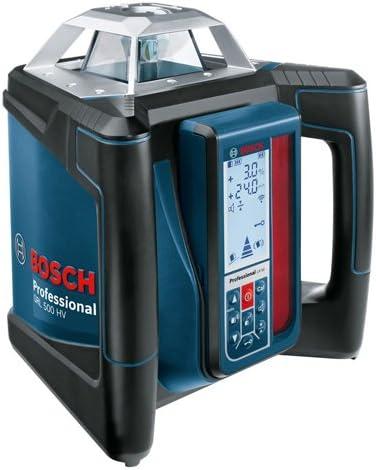 Bosch Professional 0601061B00 GRL 500 HV Professional Rotation Laser, 850 W, 18 V, Blue