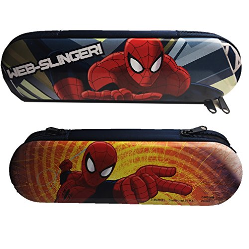 (Ultimate Spiderman Personalized Tin Zipper Pencil Case)