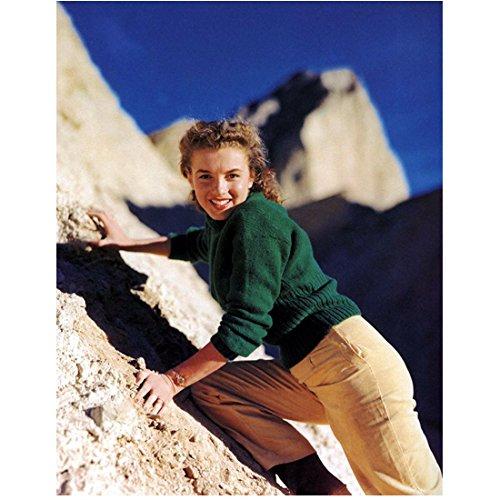 - Marilyn Monroe 8Inch x 10Inch Photo Some Like It Hot The Seven Year Itch Gentlemen Prefer Blondes Rock Climbing Tan Pants Green Sweater kn