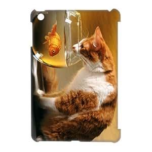 3D Case Of Cute Cat 3D Bumper Plastic Customized Case For iPad Mini