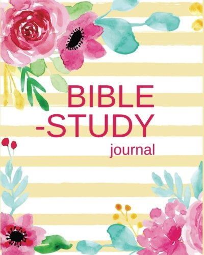 Bible Study Journal: Christian Journals / Workbooks / A Simple Guide To Journaling Scripture to Write In for Women Gifts, Pink Watercolor Yellow ... Christian Notebook Workbook) (Volume 1). ebook