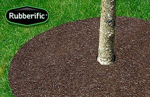 International Mulch Rubberific 36 in. Brown Tree Ring44; 3 (International Mulch)