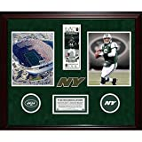 Steiner Sports NFL New York Jets Final Ticket Collage with Ticket, Turf, Photo, Logos and Nameplate Package B
