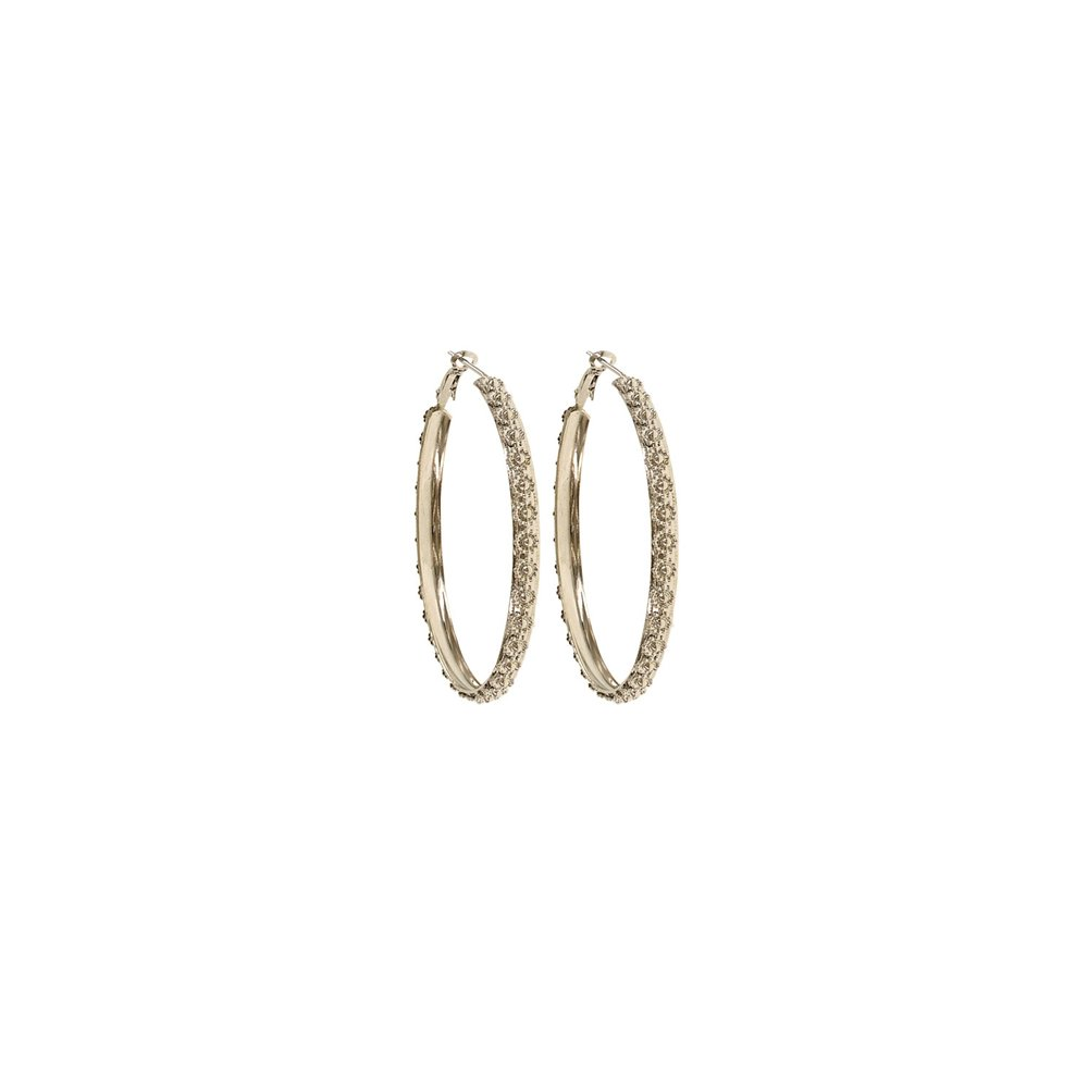 Designer Silver Plated 6mm Hoops For Womens and Girls