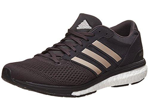 adidas Performance Women's Adizero Boston 6 w Running Shoe, Utility Black/Platin/Black, 11 Medium US by adidas