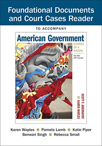 - Document Reader for American Government: Stories of a Nation: For the AP® Course