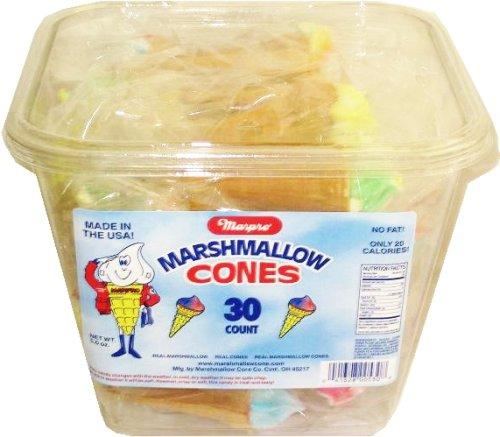 Yum Yum Marshmallow Cones -