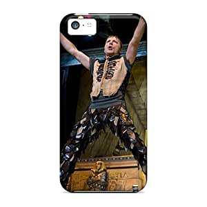 Shock-Absorbing Cell-phone Hard Cover For Iphone 5c (puO15361FRuJ) Allow Personal Design Lifelike Iron Maiden Pictures hjbrhga1544