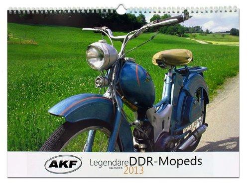 Legendäre DDR-Mopeds 2013