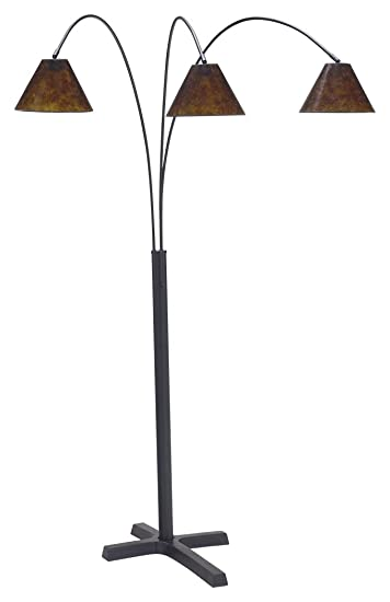 Amazon ashley furniture signature design sharde metal arc amazon ashley furniture signature design sharde metal arc adjustable floor lamp matte black home kitchen aloadofball Images