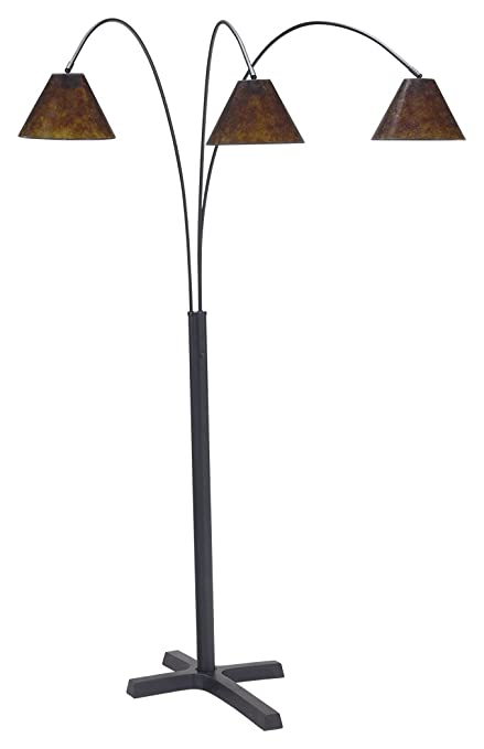 Amazon ashley furniture signature design sharde metal arc ashley furniture signature design sharde metal arc adjustable floor lamp matte black aloadofball