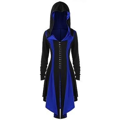 Damen Herbst Winter Schlank Kapuzenjacke Lange Schlank Mantel Dick Mit Kapuze Parka Mantel Lange Retro, Gothic Anspruchsvolles Design Outwear FRAUIT