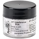 Jacquard Products Jacquard Pearl Ex Powdered Pigments, 3g, Interference Blue