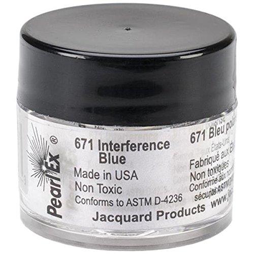 Pigmento Jacquard Pearl Ex 3gr. Interferencia Azul