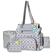 Fisher-Price 5 in 1 Lattice Diaper Bag