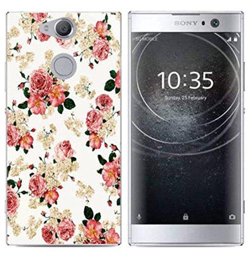 PREVOA Funda para Sony Xperia XA2 - Colorful Silicona TPU Funda Case para Sony Xperia XA2 Smartphone - 14 13