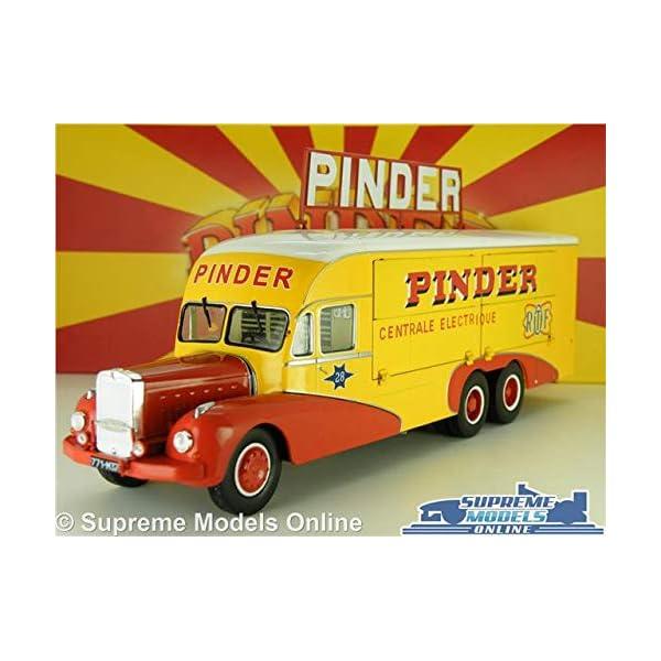 PIN22B 1//43 IXO Circus Pinder Semi-Trailer Assumption